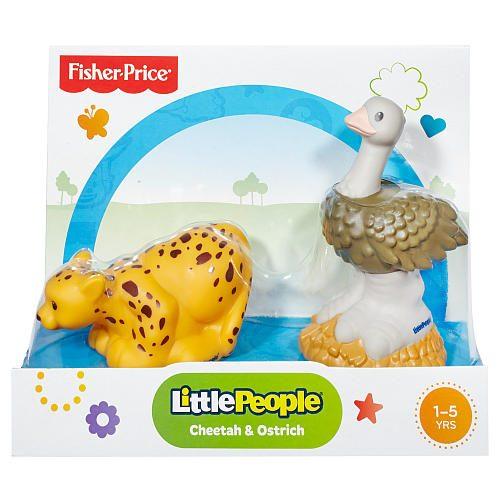 Fisher Price Little People Figurki Zwierząt Tropikalnych  Gepard