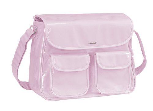 Praktyczna torba z przewijakiem Ciao Bebedue - torba dla mamy Różowy