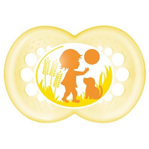 Smoczek uspokajający Mam Original 16m+ Żółta piłka