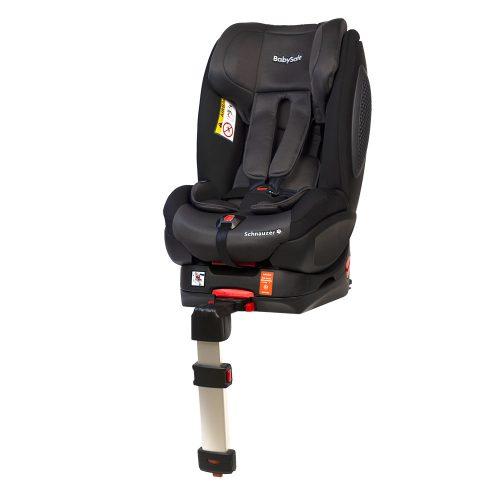 Fotelik samochodowy BabySafe Schnauzer 0-18 KG przodem i tyłem do kierunku jazdy kolor Szaro Czarny plus gratis !