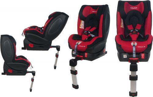 Fotelik samochodowy BabySafe Schnauzer 0-18 KG przodem i tyłem do kierunku jazdy kolor Różowy plus gratis !