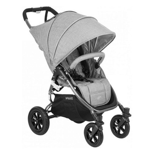 Wózek spacerowy Valco Baby Snap 4 Sport Tailor Made na pompowanych kołach, kolor Grey Marle + GRATIS