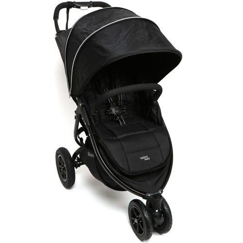 Wózek spacerowy trójkołowy Valco Baby Snap 3 Sport kolor Black Beauty + Gratis