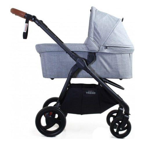 Gondola do wózka spacerowego Valco Baby Snap 4 Trend, Snap 4 Trend Sport kolor Grey Marle