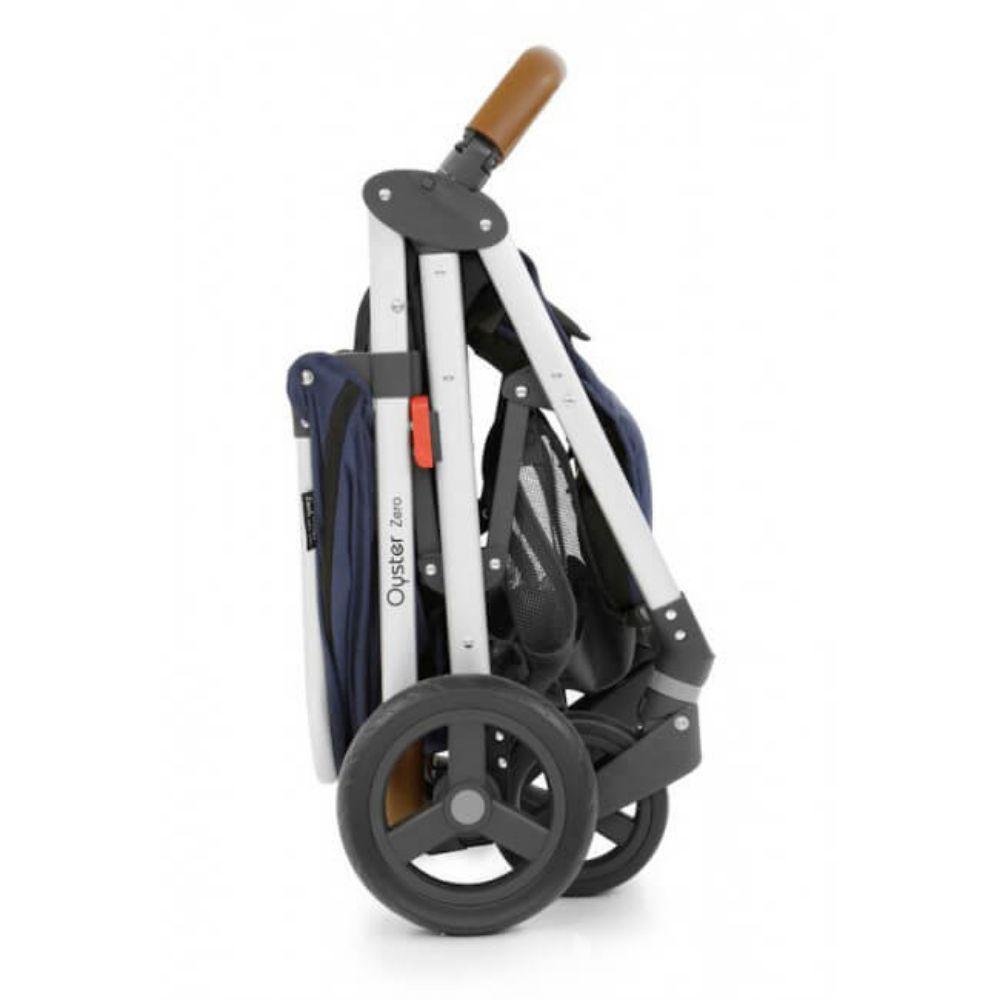 Wózek spacerowy Oyster Zero kolor Czarny