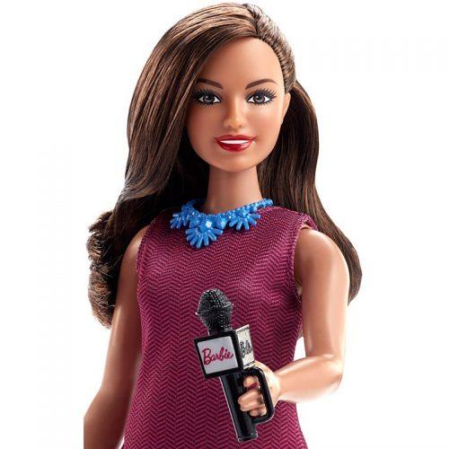 Lalka Barbie prezenter GFX27