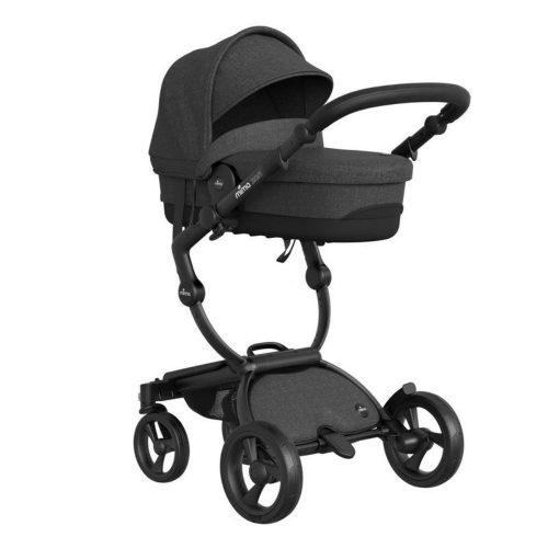 Gondola do wózka Mima Xari Sport z możliwością złożenia na płasko kolor Charcoal