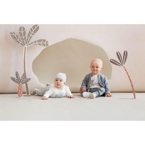 Pajac niemowlęcy pajacyk Wild Animals Pinokio 56 Róż