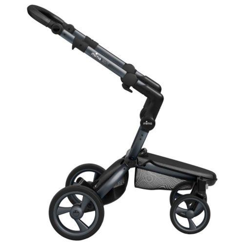 Stelaż wózka Mima Xari + folia przeciwdeszczowa kolor Graphite Grey