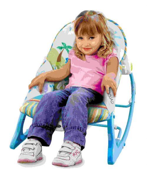 Leżaczek dla niemowląt od 0-18 kg Konig Kids