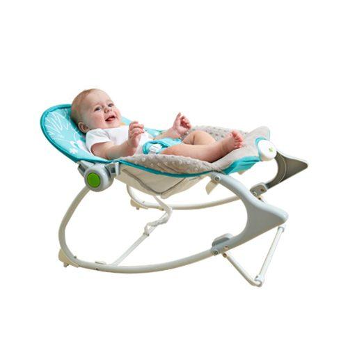Leżaczek dla niemowląt od 0-18 kg z wibracjami Konig Kids