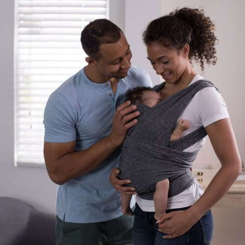 Nosidło dla niemowląt chusta do noszenia 0-185 kg Boppy Chicco szare