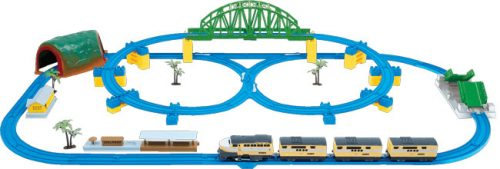 Kolejka elektryczna DU20400 zstaw z mostem zwodzonym