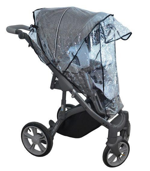 Folia przeciwdeszczowa do wózków spacerowych polskich producentów