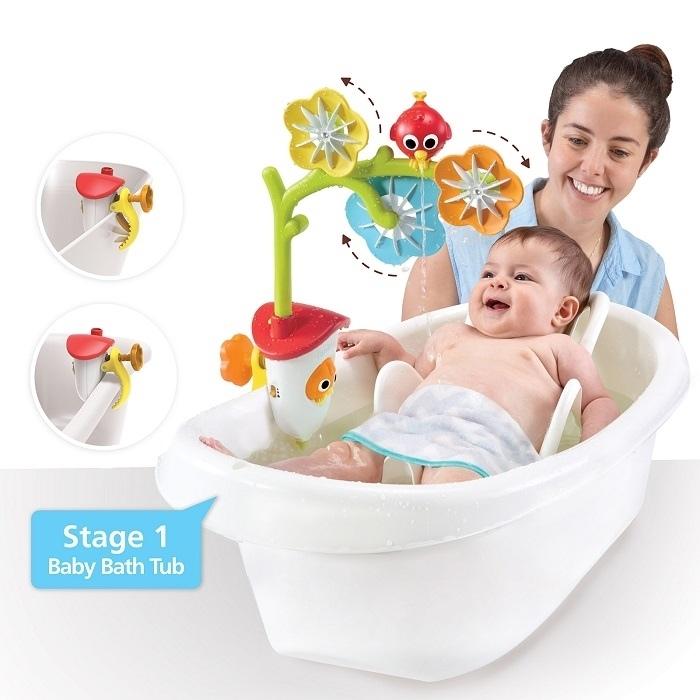 Karuzela sensoryczna Yookido zabawka do kąpieli dla dziecka