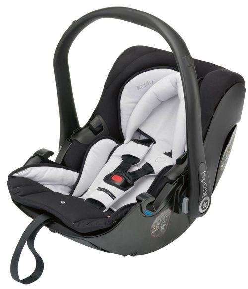 Fotelik samochodowy Kiddy Evolution Pro 2 dla dzieci 0-13 kg z regulacją kąta pochylenia oparcia kolor Stone