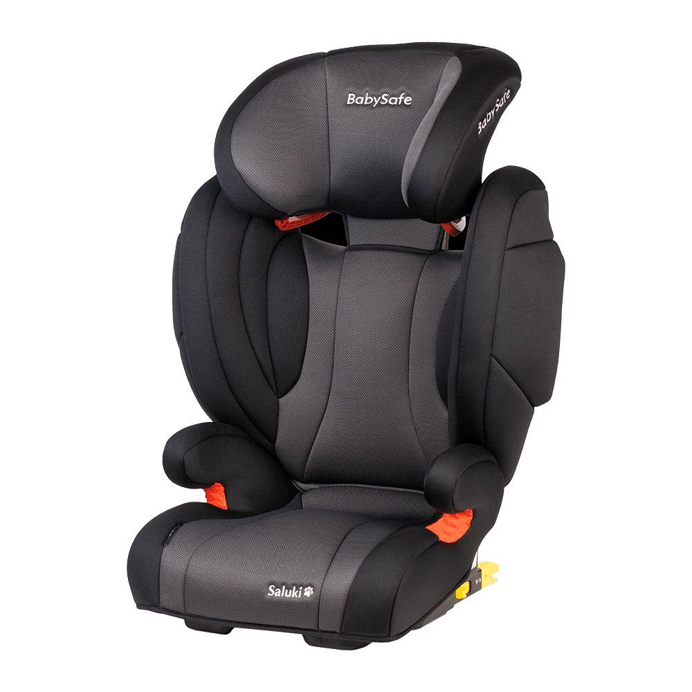 Fotelik samochodowy 15-36 kg BabySafe Saluki kolor Szaro - Czarny plus gratis !