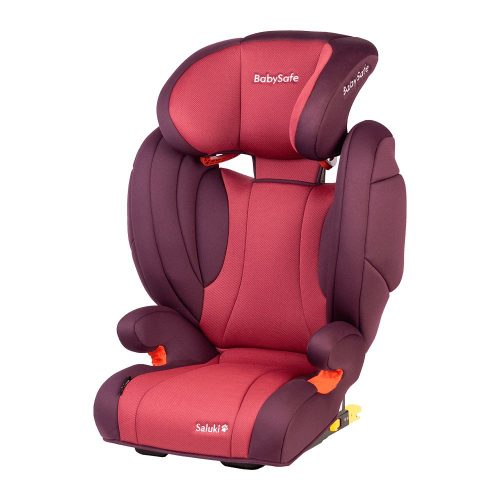 Fotelik samochodowy 15-36 kg BabySafe Saluki kolor Różowy plus gratis !