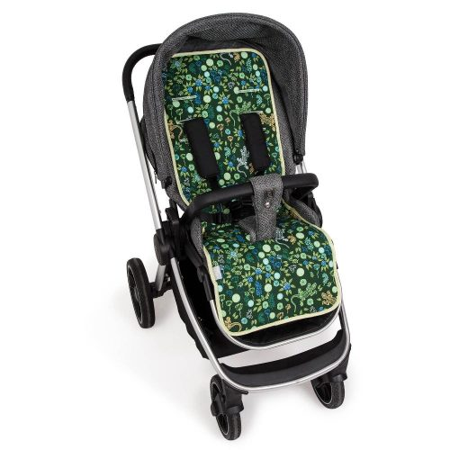 Wkładka dwustronna do wózka spacerowego Velvet + bawełna Ceba Baby Geco