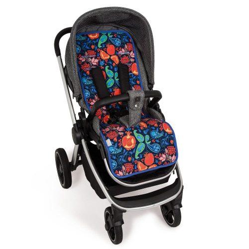 Wkładka dwustronna do wózka spacerowego Velvet + bawełna Ceba Baby Granadas
