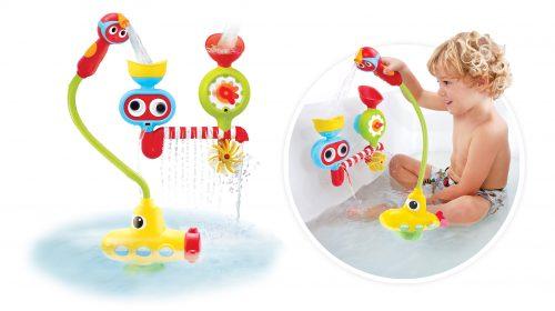 """Zabawka do wanny """"Podwodny okręt z prysznicem wieloryb"""", Yookidoo"""