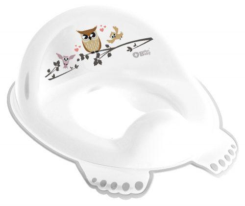 Plus Baby Nakładka sedesowa antypoślizgowa SOWA biały Tega Baby