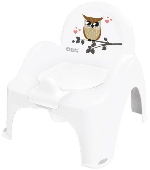 Plus Baby Pozytywka Nocnik Krzesełko Sowa biały Tega Baby