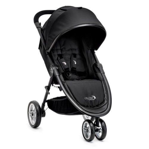 Kompaktowy miejski wózek spacerowy Baby Jogger City Lite kolor Black