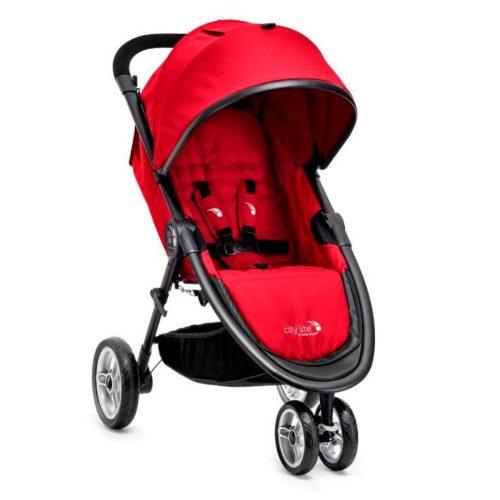 Kompaktowy miejski wózek spacerowy Baby Jogger City Lite kolor Red