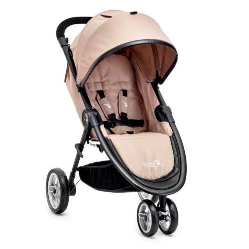 Kompaktowy miejski wózek spacerowy Baby Jogger City Lite kolor Tan