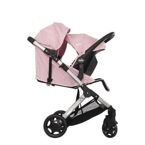 Spacerowy wózek dla lalek Joie Pact 2w1 + fotelik samochodowy