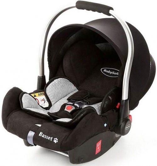 Fotelik samochodowy 0-13 kg BabySafe Basset