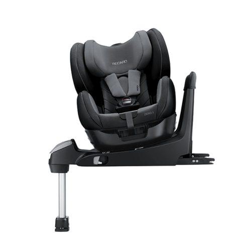 Obrotowy fotelik samochodowy Recaro Zero.1 0-18 kg kolor Aluminium Grey