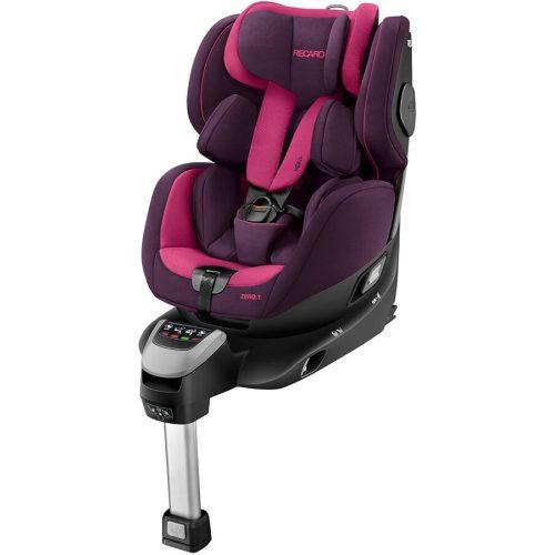 Obrotowy fotelik samochodowy Recaro Zero.1 0-18 kg kolor Power Berry