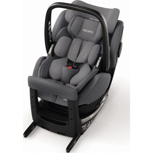 Fotelik samochodowy Recaro Zero 1 Elite i-Size 0-18 kg kolor Aluminium Grey