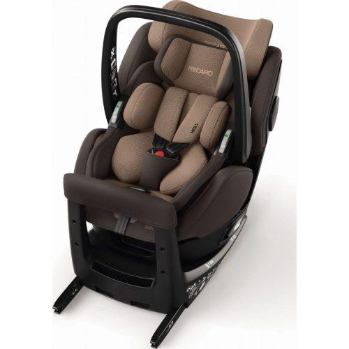 Fotelik samochodowy Recaro Zero 1 Elite i-Size 0-18 kg kolor Dakar Sand