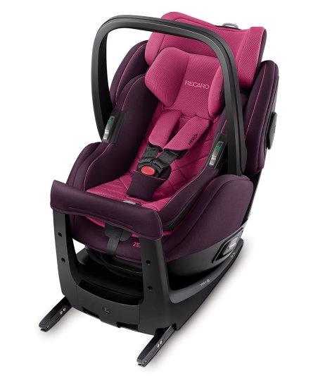Fotelik samochodowy Recaro Zero 1 Elite i-Size 0-18 kg kolor Power Berry