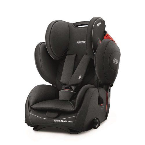 Fotelik samochodowy Recaro Young Sport Hero 9-36 kg kolor Performance Black