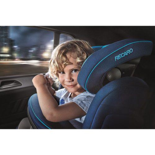Fotelik samochodowy 9-36 kg Recaro Monza Nova IS Seatfix z osłoną tułowia kolor Aluminium Grey