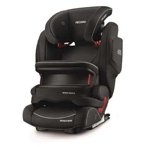 Fotelik samochodowy 9-36 kg Recaro Monza Nova IS Seatfix z osłoną tułowia kolor Performance Black