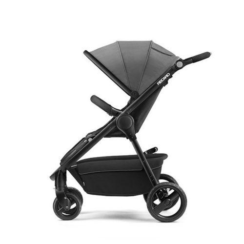 Wózek spacerowy Recaro CityLife z możliwością montażu gondoli i fotelika 0-13 kg kolor Black