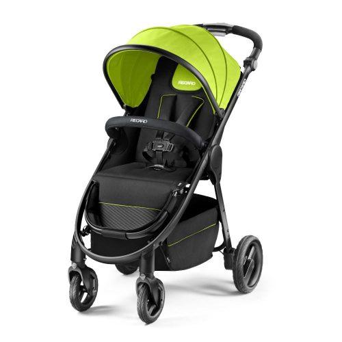 Wózek spacerowy Recaro CityLife z możliwością montażu gondoli i fotelika 0-13 kolor Lime
