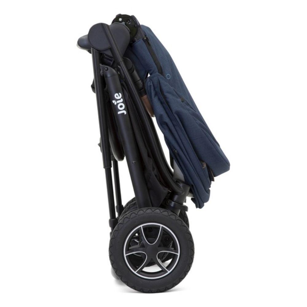Wózek spacerowy Joie Versatrax z możliwością zamontowania gondoli oraz fotelika 0-13 kg, kolor Deep Sea