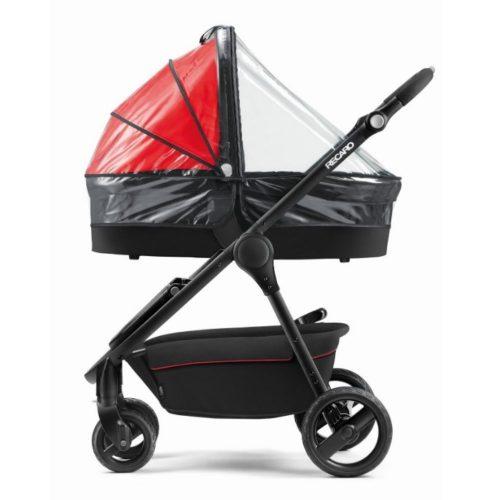 Folia przeciwdeszczowa na gondole wózka Recaro Citylife