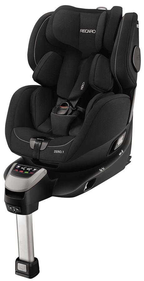 Obrotowy fotelik samochodowy Recaro Zero.1 0-18 kg kolor Performance Black