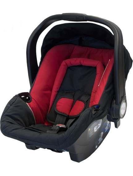 Fotelik samochodowy Axkid 0-13 kg BabyFix z bazą isofix lub na pasy kolor Czerwony