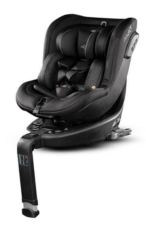 Fotelik samochodowy obrotowy 360 I-Size Nado Coeur 0-18 kg, Be Cool Black