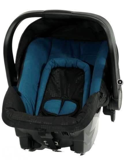 Fotelik samochodowy Axkid 0-13 kg BabyFix z bazą isofix lub na pasy kolor Turkusowy