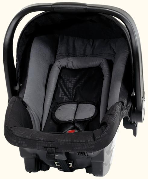 Fotelik samochodowy Axkid 0-13 kg BabyFix z bazą isofix lub na pasy kolor Szary