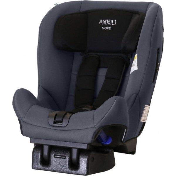 Axkid Move - fotelik samochodowy tyłem do kierunku jazdy 9-25 kg kolor Szary